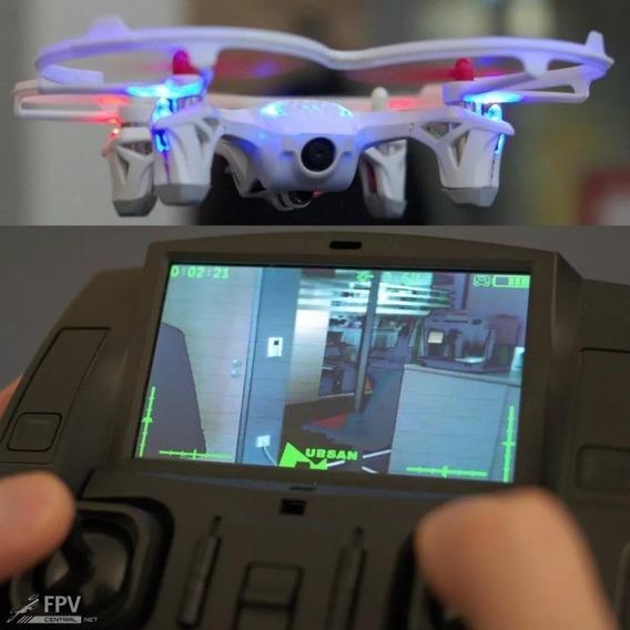 Drone Hubsan X4 H107d - Filmagem Fpv + Kit Fly More + Maleta