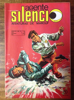 Lote 11 Comic - 6 Agente Silencio Y 5 Jungla