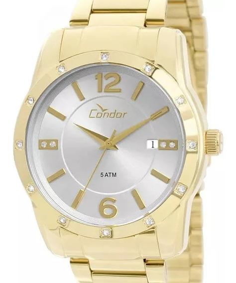 Relógio Condor Unisex Co2115sy/4b Lindo E Barato De Vitrine