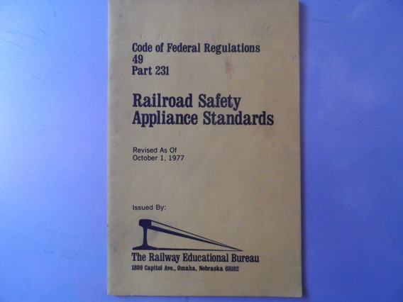 Livro Railroad Safety Appliance Standards