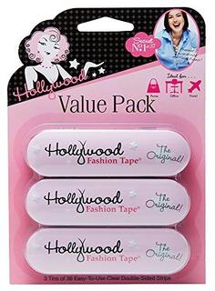 Cinta Adhesiva De Doble Cara Hollywood Quality
