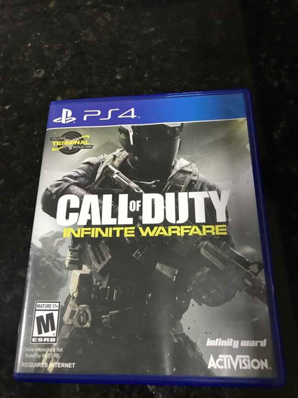Jogo Ps4 Call Of Duty Infinite Warfare Original Mídia Física