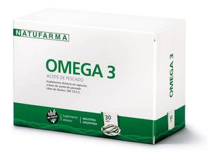 Omega 3 Aceite De Pescado Natufarma 30 Caps