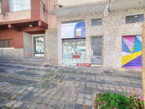 Loja Térrea Frente Para A Rua No Champagnat - Al. Júlia Da Costa - 20m² + Depósito. - Lo0010