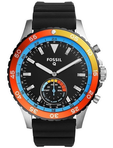 Reloj Fossil Q Crewmaster Smatwatch Hibrido Ftw1124