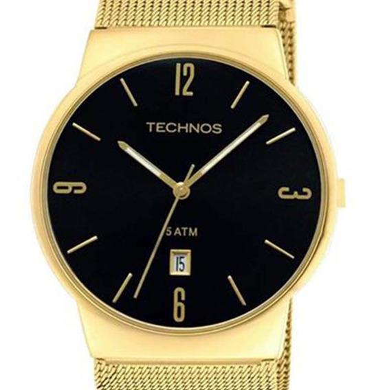 Relógio Technos Feminino Dourado Slim- Gm10ih/4p