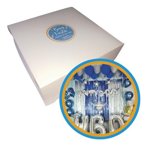 Kit Decoración Cumpleaños Azul