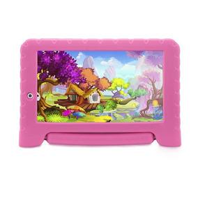 Tablet Multilaser Kids Pad Nb279 Pink Tela 7 Wi-fi 8gb