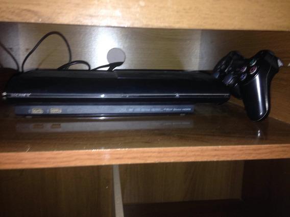 Playstation 3 Com Manete E 3 Jogos Originais 500gb