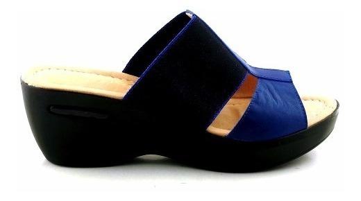 Sandalia Charol Mujer Zueco Briganti Zapato - Mcsu48016 Ch