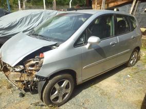 Sucata Honda Fit Lx 1.4 16v Flex 2008 Vendo As Peças!!