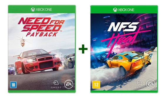 Need For Speed Payback + Nfs Heat - Xbox One - Novo - Física