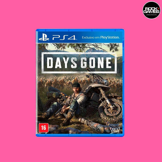 Days Gone Ps4 Mídia Física Lacrado Português Pronta Entrega