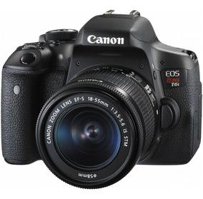 Câmera Canon Eos T6i Lente 18-55 Stm