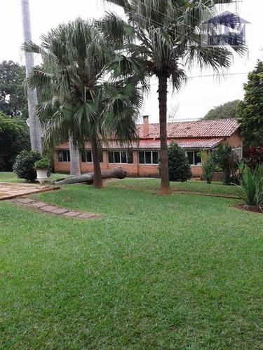 Chácara Com 3 Dormitórios À Venda, 5040 M² - Valinhos - Valinhos/sp - Ch0003