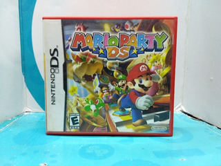 Mario Party Ds - Nintendo Nds Compatible 3ds, 2ds -