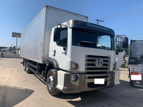 Caminhão Vw 24-280 Constellation 6x2 Leito Trucado 2014