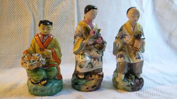 Estatuillas Porcelana Familia China Originales