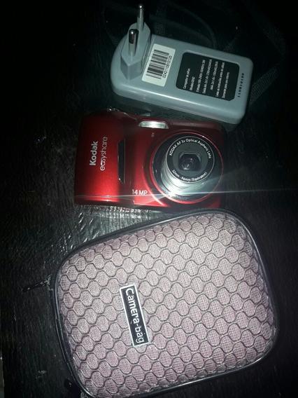 Camera Digital Kodak Muito Nova Acompanhar Cartão De Memória