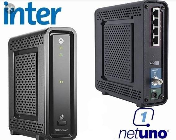Cable Modem Router Inter Motorola 3.0 10 Megas