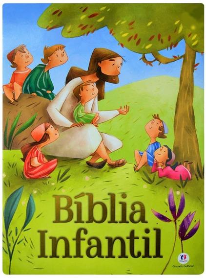 Bíblia Para Crianças Ciranda Cultural Capa Dura