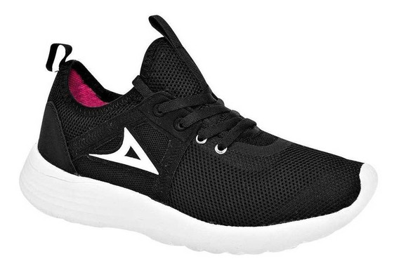 Tenis Pirma Mujer 239 Color Negro Talla 22-26 -shoes