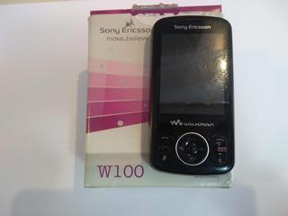 Celular Sony Ericsson W100 Walkman - Defeito
