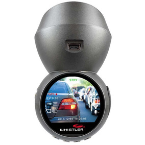 Whistler Dash Cam Fixação Magnética 16gb 1.2 Lcd Gps & Wifi