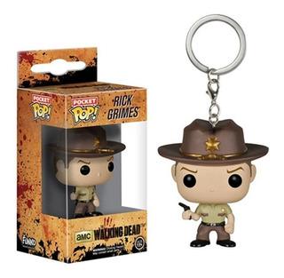 Llavero Funko Pop   The Walking Dead - Rick Grimes