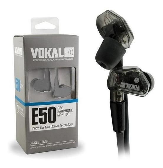 Fone Earphone Vokal E50 Pro