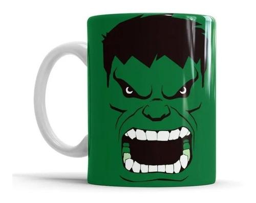 Imagem 1 de 1 de Caneca De Cerâmica Hulk Super Herói Personalizada