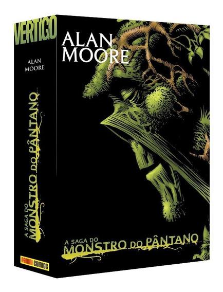Box Caixa P/ Saga Monstro Do Pântano Alan Moore Case In Case