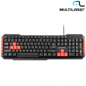 Teclado Gamer Multilaser Red Keys Com Teclas Silenciosas