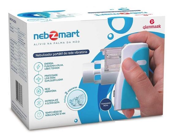 Inalador Nebulizador Nebzmart Kit Completo