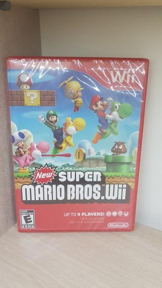 New Super Mario Bros. Wii / Wii U Novo Lacrado Raridade
