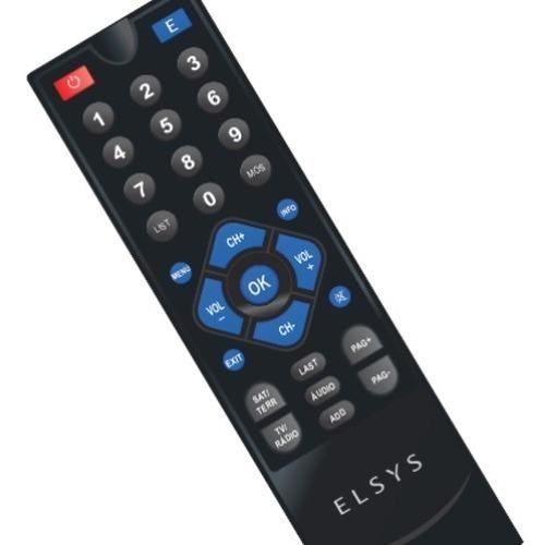 Receptor Analógico E Digital Hd Elsys Duomax Hd Etrs49
