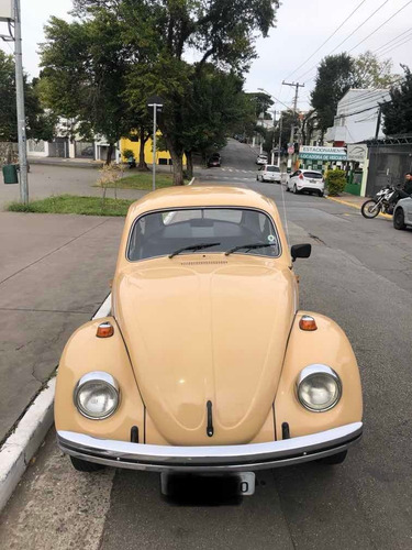 Volkswagen Fusca 1600 Alcool