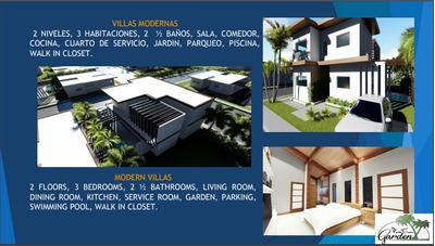 Hermosa Villa En Punta Cana New Garden