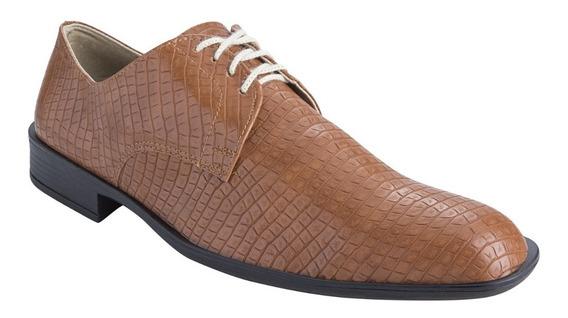 Zapatos Con Cinto Crock Vestir Hombre Eco Cuero Fiesta Moda