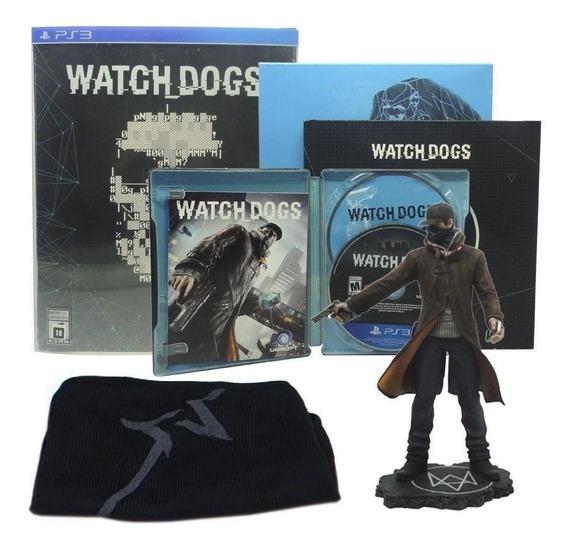 Watch Dogs Limited Edition Ps3 Mídia Física Pronta Entrega