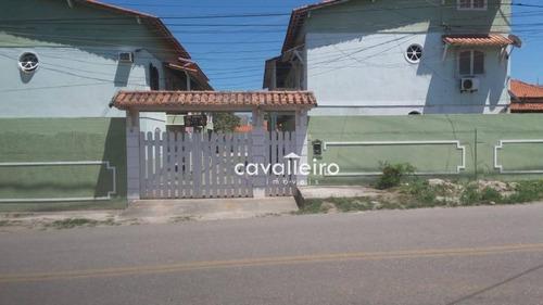 Casa Com 3 Dormitórios À Venda, 152 M² - Jardim Atlântico Central - Maricá/rj - Ca3939