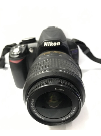 Câmera Nikon D3100- Problema Na Lente Interna/bloco Ótico