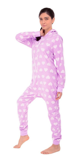 Mameluco Pijama Corazones