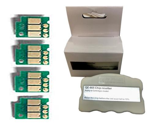 Imagen 1 de 3 de Chips Autoreseteables Y Reseteador  Lc103 Lc101