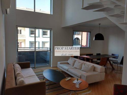 Imagem 1 de 27 de Apartamento Duplex, 71 M² - Venda Por R$ 1.100.000,00 Ou Aluguel Por R$ 4.700,00/mês - Pinheiros - São Paulo/sp - Ad0021