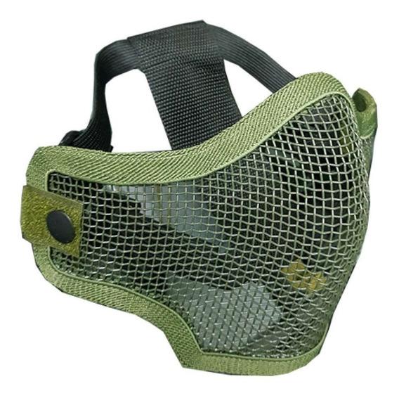 Mascara Proteccion Media Face Verde