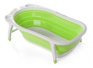 Bañera Bañadera P/bebe Plegable Compacta Karibu + Cuotas
