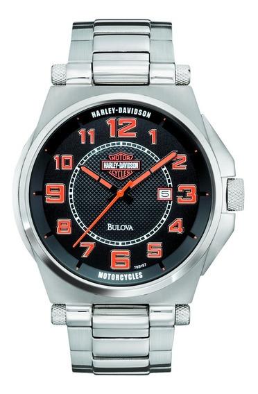 Relógio Bulova Masculino Harley Davidson Wh30117t 76b157