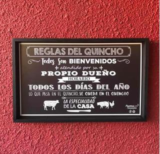 Cuadro Decorativo Para El Quincho