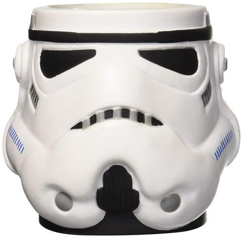 Imagen 1 de 3 de Icup Star Wars Stormtrooper Casco Moldeado Can Cooler, Tr